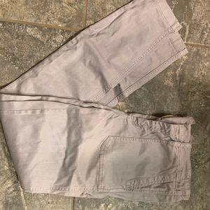 J crew size 27 tall grey skinny pants